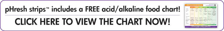 FREE acid / alkaline food chart!